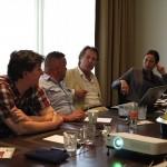 Hamburg – 2012: AAT-Ausbilder des IKD beraten sich