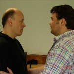 Schauspieltraining mit Helmut Wenderoth (Schauspiellehrer): Kaspar Hauser will nicht verlassen werden.